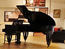 The exclusive pianosalon in Mannheim-Germany, city-center