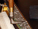 Tuning tool of Christof Klingel, piano builder